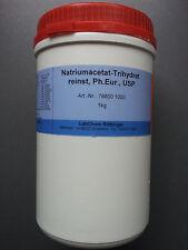 Natriumacetat-Trihydrat reinst Ph.Eur., USP von Merck