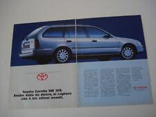 advertising Pubblicità 1993 TOYOTA COROLLA SW