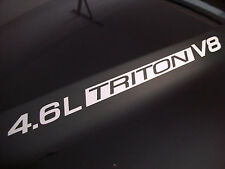 4.6L Triton V8 (pair) Hood decals sticker emblem Ford F150 F250