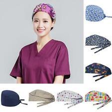 IC- Adjustable Surgicals Caps Scrub Bouffant Hat Doctor Nurse Cap Surgeons Cap N