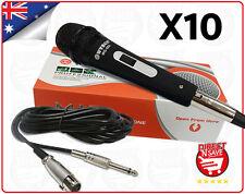 10 X  Dynamic Microphone Hi-fidelity Unidirectional Mic Precision Audio WG-988