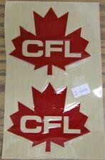 CFL Helmet Decals (2 per page) - 1969-2002 Logo