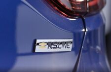 LOGO RS  Coffre RENAULT SPORT MEGANE III 3 ORIGINAL BADGE 908924642R