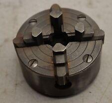 Rare Craftsman 4 jaw chuck 111 21370 watchmakers lathe metal working tool