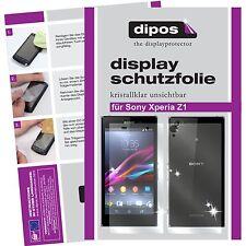 2x Sony Xperia Z1 Protector de Pantalla protectores transparente