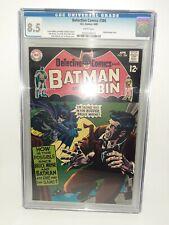 DC Detective Comics #386 Cgc 8.5 White Pages Case Is Mint