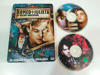 Romeo y Julieta Edicion Especial Leonardo Dicaprio DVD Steelbook Español English