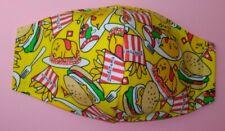 Hello Kitty Gudetama Egg Fried RiceMask Adult 3-Layers Optional Filter Pocket