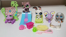 LITTLEST PET SHOP FIGURINES MIXED LOT! SPIDER BUNNY RABBIT BUTTERFLY KIDS TOY!