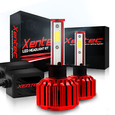 9005 + H11 Combo LED Kit Headlight High & Low Light 6000K 200W 60000LM by Xentec
