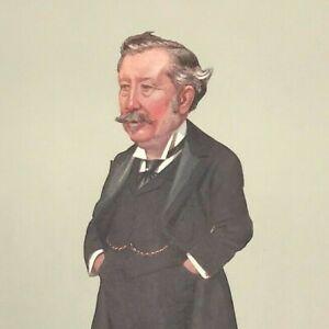 Rt. Hon. R. K. Causton A CHEERY PAYMASTER Vanity Fair Print Original colour 1901