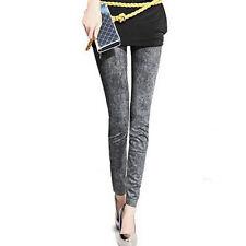 Women Skinny Slim Jeggings Stretchy Denim Pants Leggings Jeans Pencil Trousers