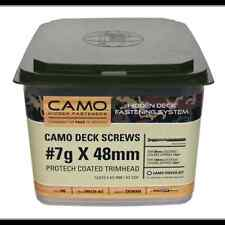 Camo 7g x 48mm Protech Trimhead Deck Screw - 700 Pack