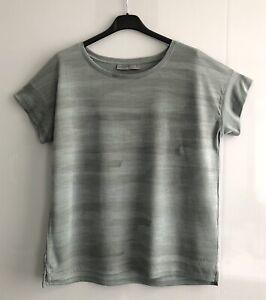 ICEBREAKER (Sz M) Coolite Merino Wool T-Shirt Short Sleeve Base Layer Top Green