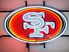 "New San Francisco 49ers Beer Bar Light Lamp Neon Sign 20"" With Hd Vivid Printing"