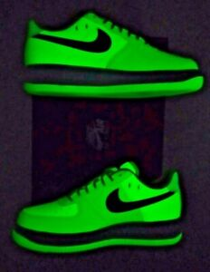 Nike Air Force 1 Low 07 Glow in the Dark DS size 8.5 women / 7 MEN - CT3228-701