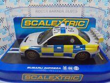 Scalextric  C3068  Subaru Impreza 2006 Police Car with siren  BNIB