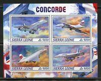 SIERRA LEONE  2018   CONCORDE  SHEET MINT NH