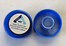 Water Bottle 48mm Screw On Caps Anti Splash Non Spill Tops  (lot of 2)