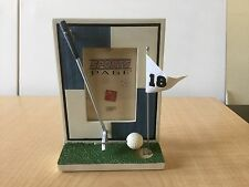 """New Russ 3D Golf Picture Frame - Holds 2 1/2"""" X 3 1/2"""""""