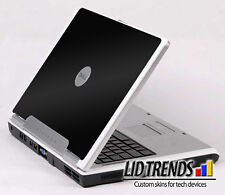 BLACK Vinyl Lid Skin Cover Decal fits Dell Inspiron 6000 Laptop