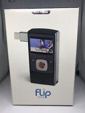 New In Box Flip Video ULTRA HD Black & Silver Video Camera 8 GB 🔥