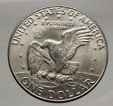 1974 President Eisenhower Apollo 11 Moon Landing Dollar USA Coin Denver  i46181