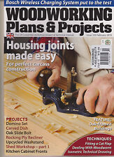 WOODWORKING PLANS & PROJECTS MAGAZINE FEB 2015.