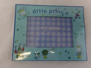 """Occasions 4 X 6 Childs Wood Picture Frame """"Little Prince"""" NEW"""