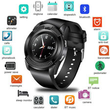 Bluetooth Smart Watch Unlocked Phone Sport Fitness Tracker for Android Phones