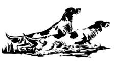 ADESIVO SETTER INGLESE Scolopax Rusticola Hunting Stickers woodcock caccia