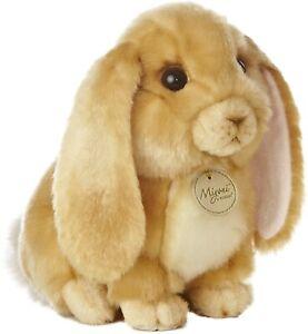 "Aurora - Miyoni - 10"" Lop Eared Rabbit - Tan"