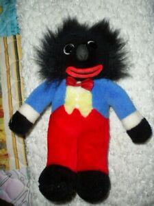 Vintage dark plush doll