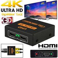 4K Ultra HD 3D UHD Adapter HDMI Splitter Switch Box Switcher-/