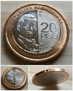 2020 PHILIPPINES 20 Piso NGC Bimetallic NGC Coin Uncirculated UNC