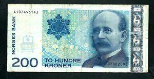 Norway (P50) 200 Kroner 2007