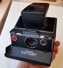 Polaroid SX-70 alpha 1 Model 2 camera vintage TESTED & WORKING
