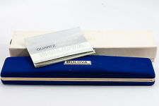 Original Vintage Bulova Box Set for a Women's Diamond Caresse 14k Dress Watch