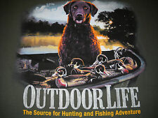 Outdoor Life - Hunting Dog T-Shirt Medium  NEW w/ Tags