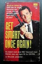 Get Smart Once Again ! Book by William Johnston 1966 TV Show Tempo Don Adams
