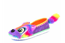 Irregular Choice 'Mr Wooftastic' (A) Purple Flat Dog Slippers