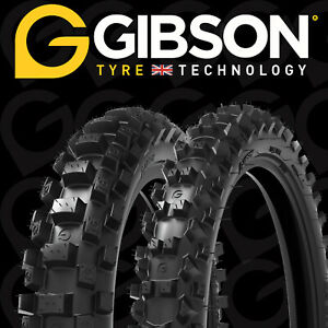 """GIBSON FRONT 17"""" Rear 14"""" TYRE  MX 1.1, 70/100-17 MX3.1 90/100-14 Small Wheel 85"""