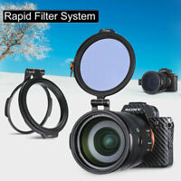 Quick Release NC Filter 49mm~82mm Switch Bracket Lens fit DSLR Camera - UURig