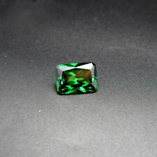 8.29ct AAAAA Natural Mined 10x12mm Sri-Lanka Emerald Rectangle Cut VVS Gemstone