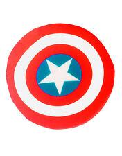 "Captain America Plush 6"" Shield, Kids Avengers Costume Accessory"