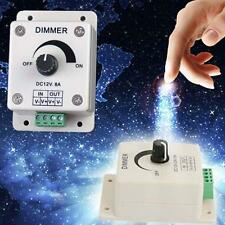 12-24V 8A LED Light Protect Strip Dimmer Adjustable Brightness Controller NEW DH