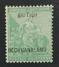 MOMEN: BECHUANALAND SG #57 13.5mm MINT OG H LOT #192430-1308