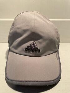 Adidas Climacool Adizero Hat 90288 Gray On Gray Running Breathable