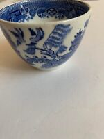 Blue Willow Cup North Staffordshire Pottery England