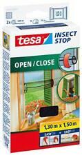 Tesa Insecto Stop Mosquitera 55033 para Abrir y Cerrar Protector Insectos